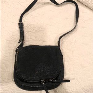 Vince camuto cross body leather bag